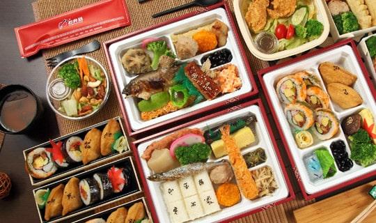 日式外賣餐點