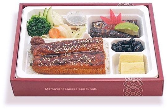 鰻魚飯、烤秋刀魚雙主菜便當